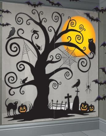 Scene Setter: Halloween Creepy Tree Scene Kit - 1.7m (32pk)