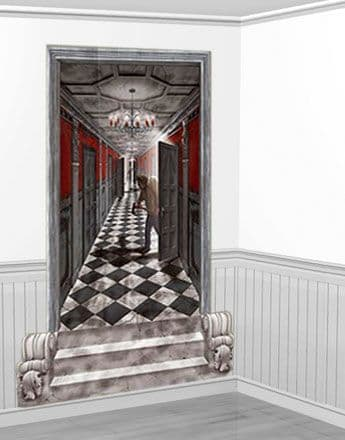 Scene Setter: Halloween Long Gothic Hallway Add-On - 1.7m (2pk)