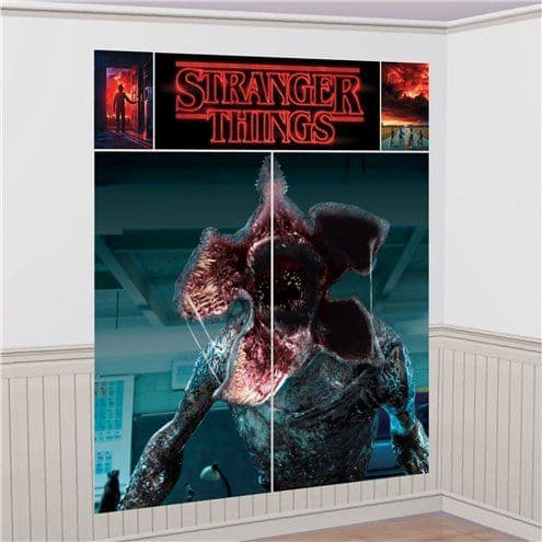 Scene Setter: Stranger Things Wall Decorating Kit - 1.9m