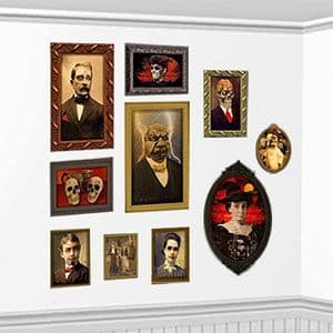 Scene Setters: Gothic Mansion Portraits Add-On - 1.7m (2pk)