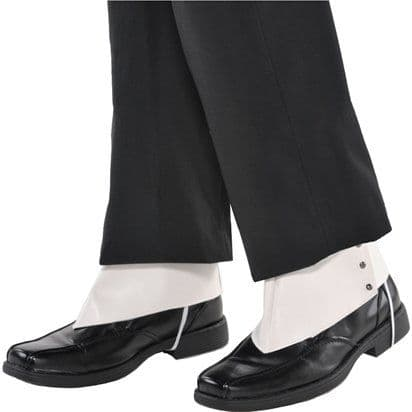 Shoes: 1920s style gangster Spats