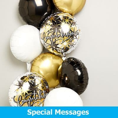 Special Message Balloons