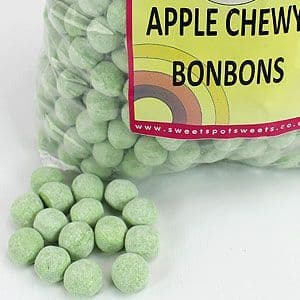 Sweets: Apple Bonbons 3kg Bulk Bag