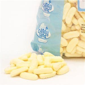 Sweets: Barratt Mini Foam Banana Bulk Bag 2kg