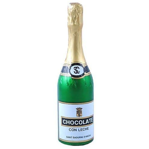 Sweets: Champagne Bottle Chocolate