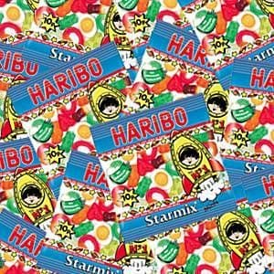Sweets: Haribo Mini Star Mix (100pk)