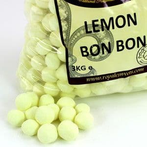 Sweets: Lemon Bonbons Bulk Bag 2kg