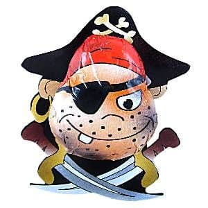 Sweets: Novelty Pirate Chocolate x6