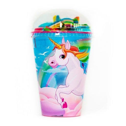 Sweets: Unicorn Sweet Cup with Jellies & Marshmallows
