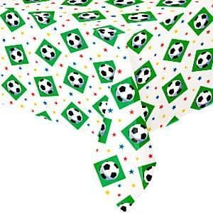 Table Cloth: Championship Football Party Plastic Tablecover (each)