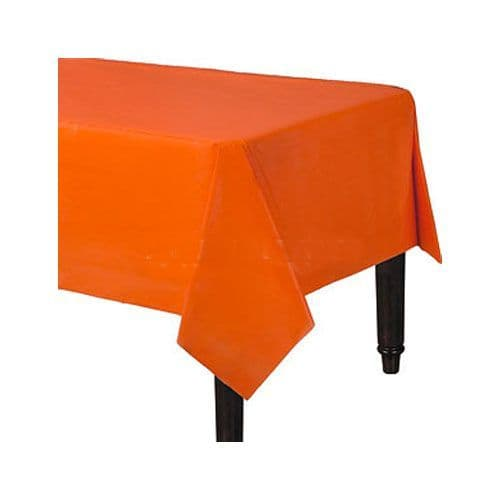 Table Cloth: Plain Partyware Plastic Tablecover (each)