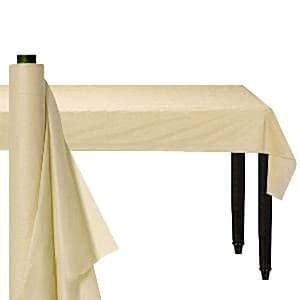 Table Roll: Ivory Table Roll - 30m Plastic