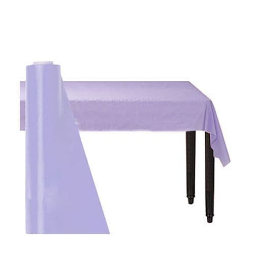Tablecloth: Lilac Table Roll - 30m Plastic