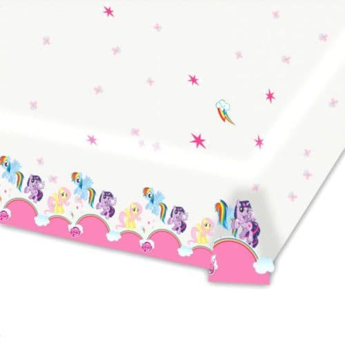 Tablecloth: My Little Pony Tablecover - Plastic 1.2m x 1.8m (each)