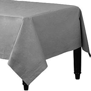 Tablecloth: Silver Tablecover - 3ply Paper - 1.4m x 2.8m (each)