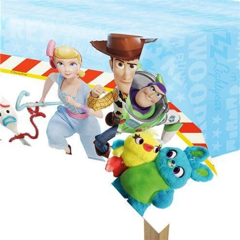 Tablecloth: Toy Story 4 Tablecover - 1.2m x 1.8m