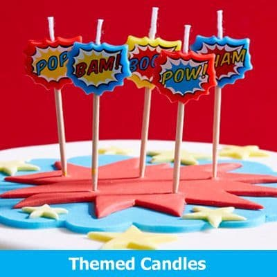 Themed Party Candles