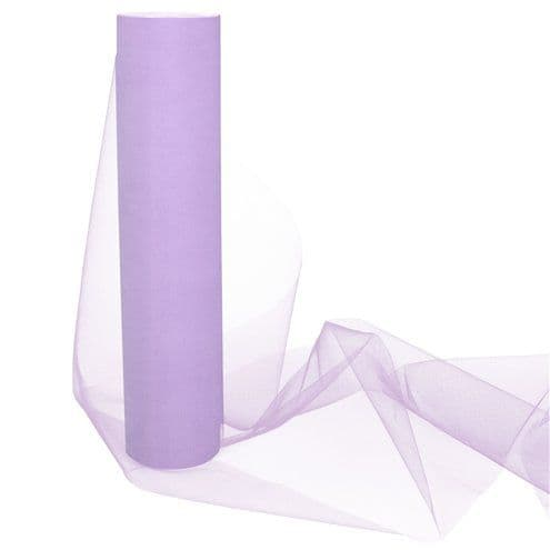 Tulle: Lilac Tulle Roll - 30cm x 25m