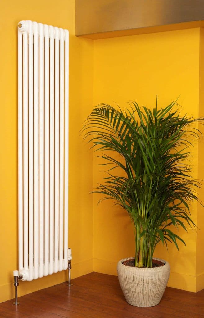 Roma Vertical Steel Column Radiator Matt Colours