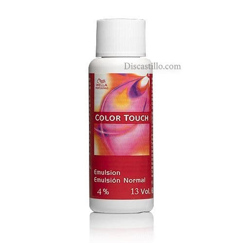 Emulsión Especial Color Touch Intensiva 4% 13 Vol. 60 ml