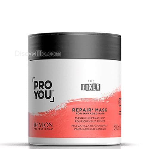 Mascarilla Revlon Proyou Reparadora de cabello The Fixer 500 ml