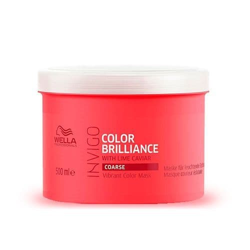 Wella Invigo Brillance Mascarilla Cabello Grueso Coloreado 500 ml