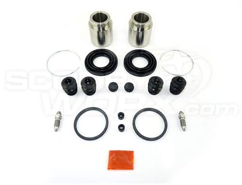 1 Pot Rear (Bolted) Stainless Steel Caliper Repair Kit