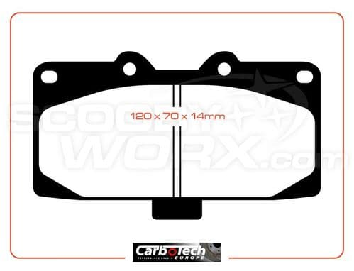 Carbotech XP10 Brake Pads