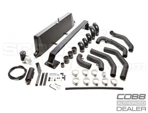 Cobb Subaru Front Mount Intercooler Kit (Black) STI 2008-2014