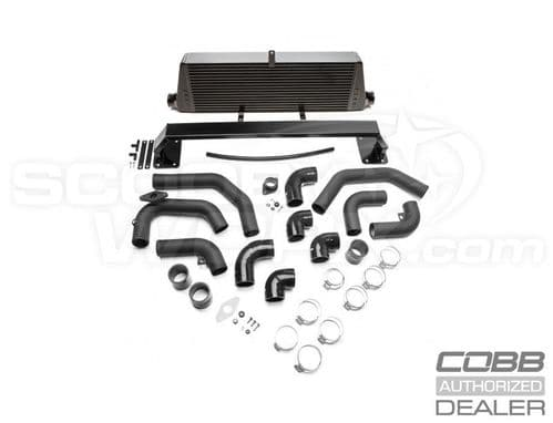 Cobb Subaru Front Mount Intercooler Kit (Black) WRX 2008-2014