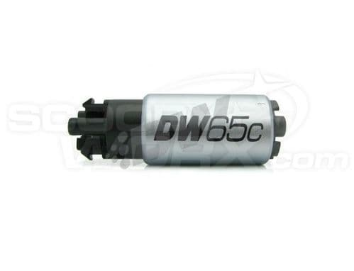 DeatschWerks DW65C series, 265lph compact fuel pump with mounting clips & Install Kit Impreza 2008+