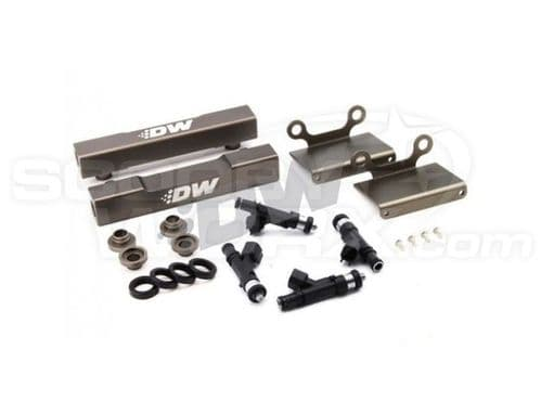 Deatschwerks Side Feed To Top Feed Fuel Rail Conversion Kit with 1200cc injectors