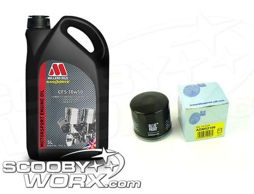 Millers CFS 10w50 Ester Based Fully Synthetic Oil + Oil Filter
