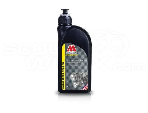 Millers Oils CRX 75w-90 NT+ Competition full synthetic transmission oil - 1 Litre