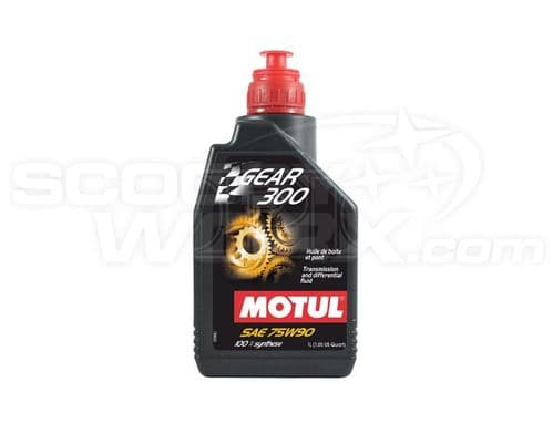 Motul Gear 300 75W-90 Fully Synthetic Racing Car Gearbox & Diff Oil (1 Litre)