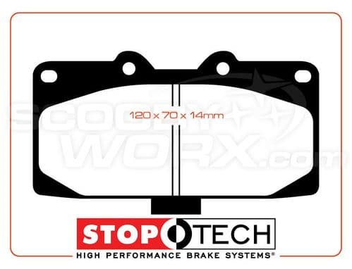 "StopTech ""Sport Performance"" Brake Pads"