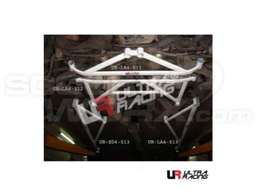 Ultra Racing Subaru Impreza (Classic) GC Version 4 Front Lower Brace LA4-512