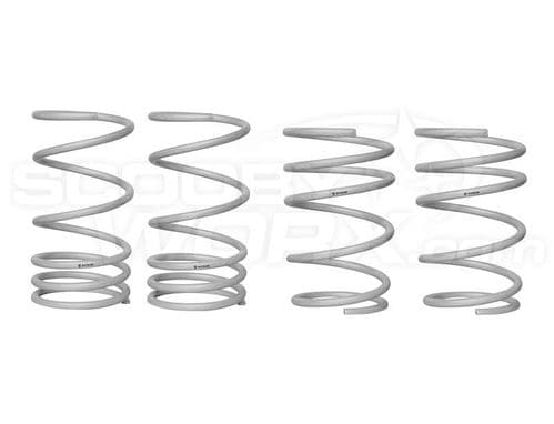 Whiteline WSK-SUB004 STi F and R Coil Springs - lowered