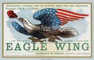Clipper Ship - Eagle Wing (Advert)