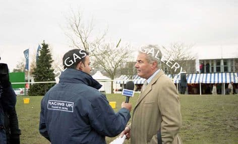 The Trainer Francois Doumen @ Cheltenham 16/03/2006