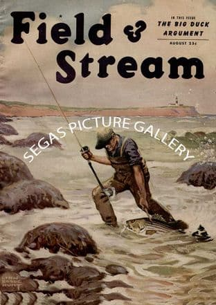 Field Stream Aug 1945
