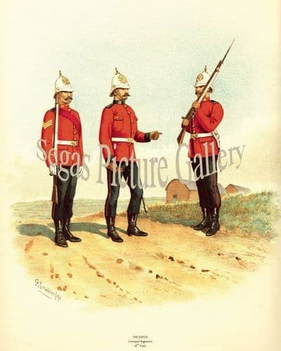 The Kings Liverpool Regiment (8th Foot)