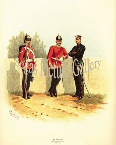 The Kings Own (Royal Lancaster Regiment) (4th Foot)