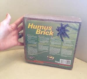 1kg Lucky Reptile Coco Humus Brick- swells 8-10 times its volume