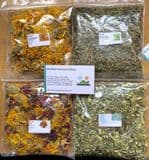 Shelled Warriors Dried Weed/ Flower Selection (Dandelion, Milk Thistle, Flower Mix, Calendula)