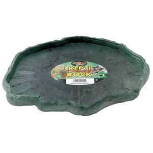 Zoo Med Repti Rock Feed Dish, X-Large 12 inches x 9 inches - free post