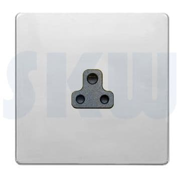 Hamilton Sheer CFX Unswitched 2a Socket Polished Chrome