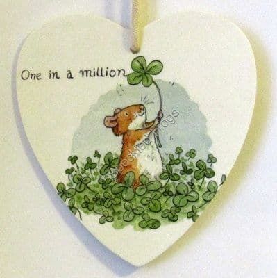 1/ One in a Million Heart Plaque
