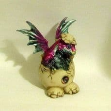 Baby Dragon, hatching from an egg,