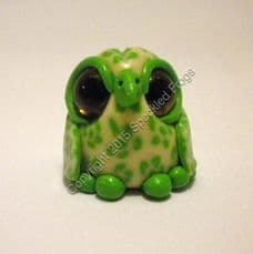 Cream and Green Owl